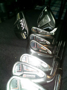 Set bâtons de golf Adams LS ,superS, gaucher