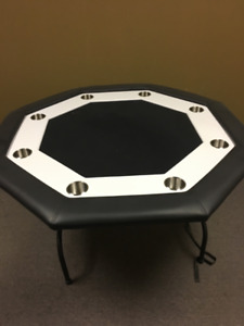 Octagon Poker Table - Brand New!
