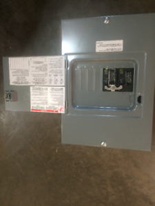 Square D 60 Amp 4 Circuit Generator Panel! Brand new in the box!