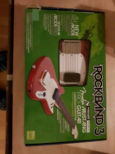 ROCK BAND 3 GUITARE POUR MODE PRO XBOX 360