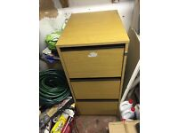 3 draw filing cabinet