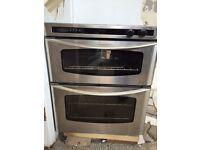 Diplomat gas double oven softline