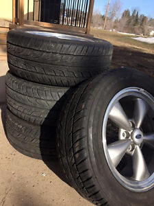 "4 Original Ford Mustang 17"" Rims and TIres for sale"
