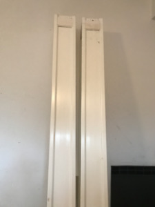 "fiberglass column / pillar/ post, 9 ft, 9"" tall (x2)"