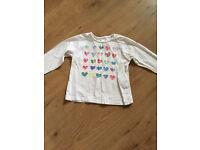 Zara baby t-shirt and shorts