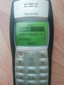Original retro Nokia 110 mobile phone