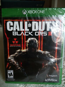 XBOX ONE Call of Duty Black Ops 3 in original plastic wrap