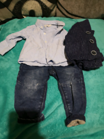 Baby boys outfit.