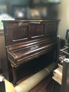 Nice Old Benedict Upright Piano