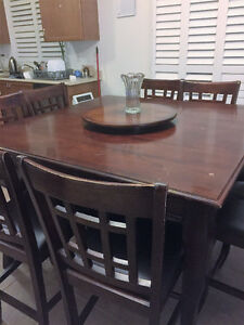 Dinette Set with Eight Chairs