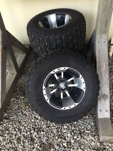 Yfz 450 rims and tires