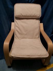 IKEA POANG Children's / Kid's Chair 1 of 2