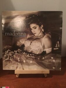 VINTAGE MADONNA LIKE A VIRGIN RECORD(VERY RARE)