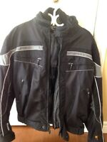 Men's Olympia motorcycle jacket medium