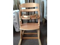 Baby dan high chair