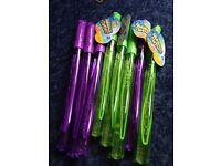 8 Kids bubble swords