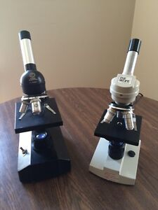 Microscopes | Cleaned & Serviced W/ Accessories
