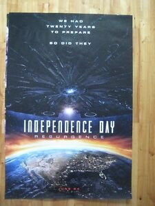 INDEPENDENCE DAY.2    (Affiche/Poster).2016.