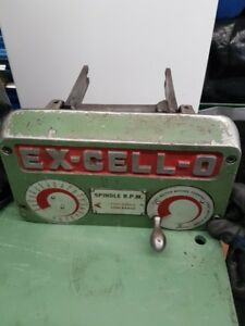 MILLING MACHINE PARTS - EXCELLO