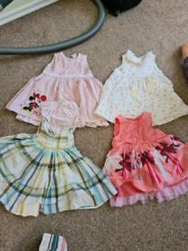 Girl dresses 6-9m