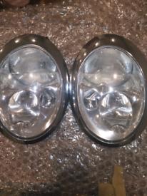 Mini headlights 2006