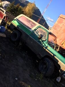 1979 Chevy blazer parts or whole 750 obo