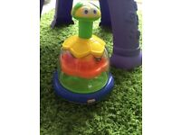 Little tykes push down spin toy