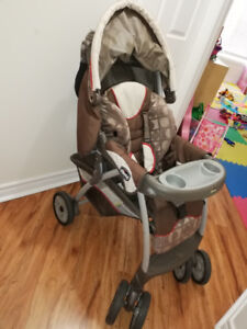 Kid's stroller and lunch seat