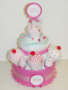 Diaper cakes for boys and girls Cambridge Kitchener Area image 2