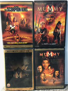 The Mummy DVD Collection - 4 DVDs