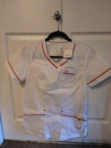 Nursing scrub tops (small - medium)