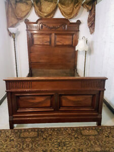 Wonderful Antique French Bed