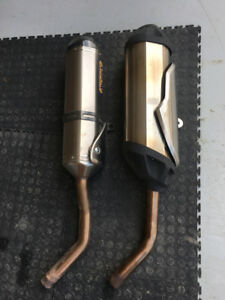 Arrow Slip-on Exhaust