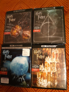 4K Ultra HD Harry Potter Movies