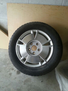 Snow tires and rims from 2008 Honda Civic