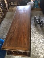 Solid wood coffee table, excellent shape