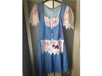 Halloween outfit size approx 10,12,14 size M
