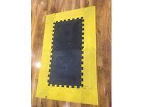 Bodymax gym rubber floor matting
