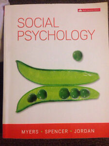 Social psychology textbook 6th can ed