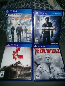 PlayStation 4 Games for sale.