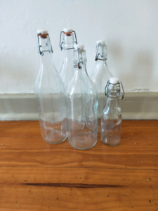 Glass bottles Warradale Marion Area Preview
