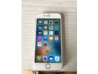 Iphone 6s silver 16gb unlocked