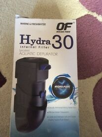 Hydra 30 internal fish filter