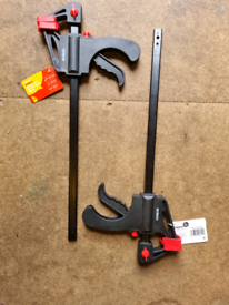 """12"""" bar clamps x2"""
