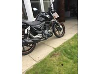 KSR Worx MOTO 125 Learner Legal very low mileage. 2016
