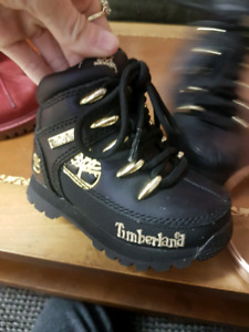 2 Pairs of Toddler Timberland Boots