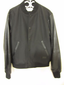 Brand New Coach Men Leather Sleeves Jacket Outwear!