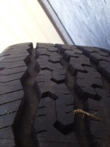 Goodyear wrangler 265/75/16 tire on 8 bolt wheel