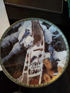 Bradford Exchange Songs of Winter Collector Plates