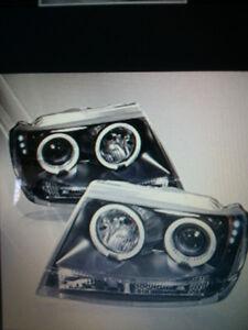 Grand Cherokee headlights